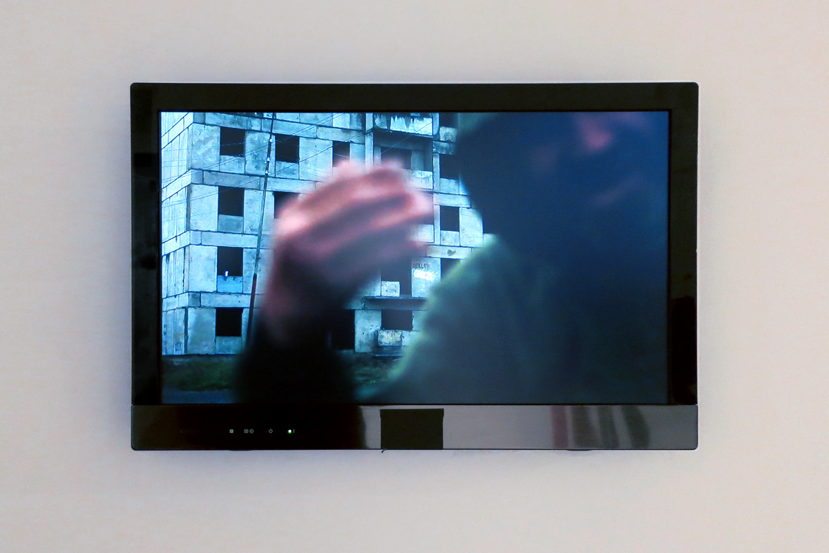 Elsa Werth, 'km unite pratique de distance', [video still 2], 2013, video, son stereo, 07.30min